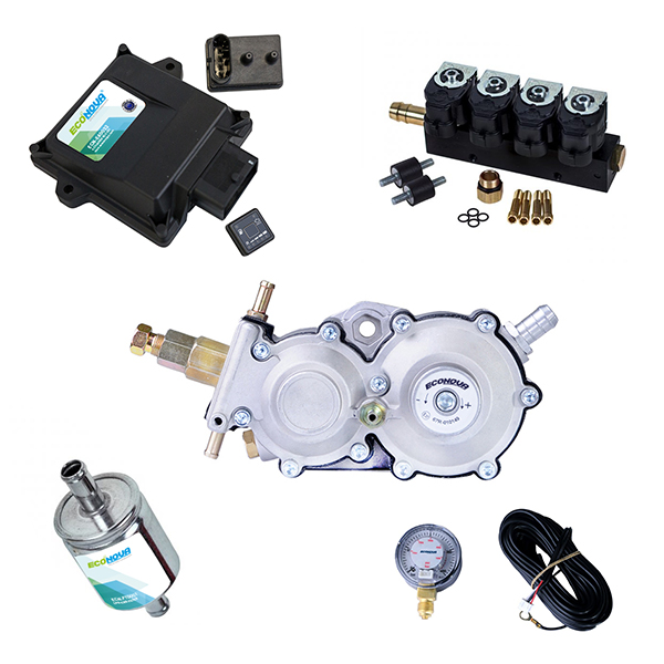E-Smart 3 4 Cylinder CNG Conversion Kit 1