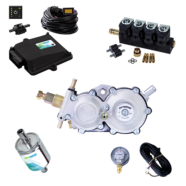 Spark 2 4 Cylinder CNG Conversion Kit 1