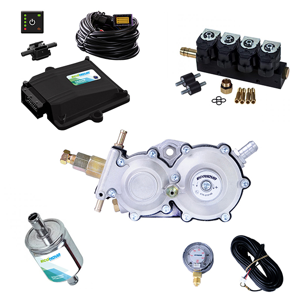 Spark 2 OBD II 4 Cylinder CNG Conversion Kit 1