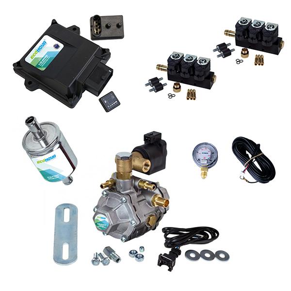 E-Smart 3 6 Cylinder OBD II CNG Conversion Kit 1