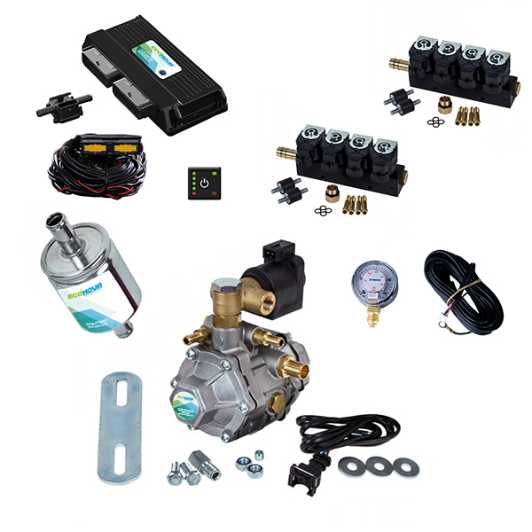 Spark 2 OBD II 8 Cylinder CNG Conversion Kit 1
