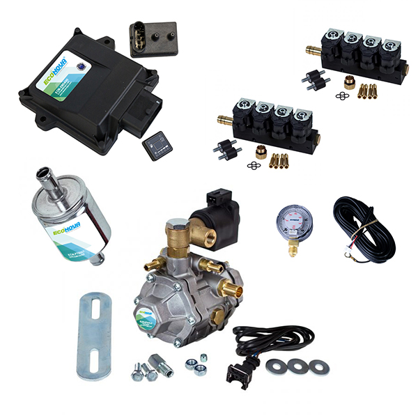 E-Smart 3 8 Cylinder OBD II CNG Conversion Kit 1
