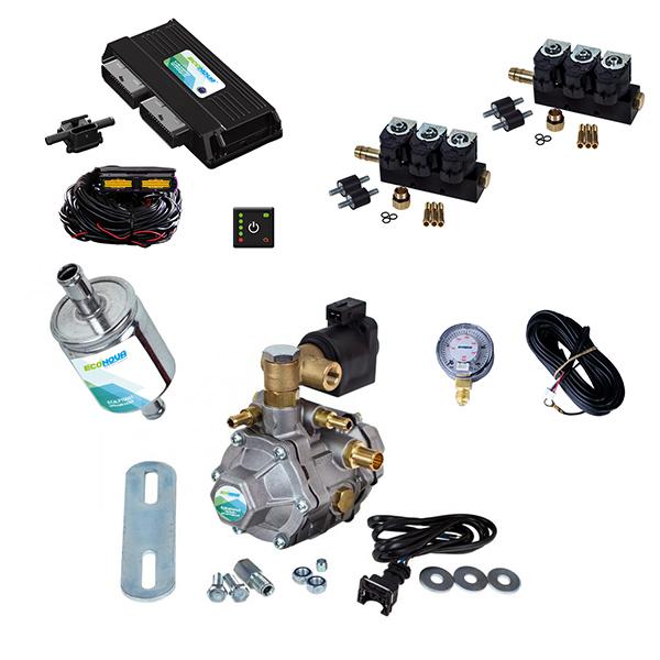 Spark 2 OBD II 6 Cylinder CNG Conversion Kit 1