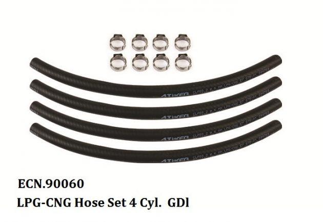 LPG-CNG Hose Set 4 Cyl GDI 1