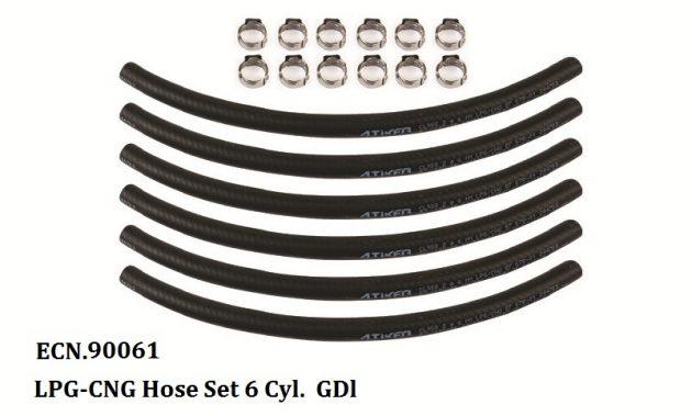 LPG-CNG Hose Set 6 Cyl GDI 1