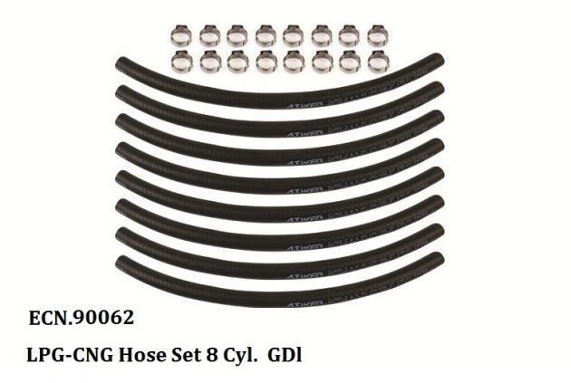 LPG-CNG Hose Set 8 Cyl GDI 1