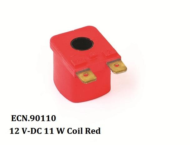 12 V-DC 11 W Coil Red 1