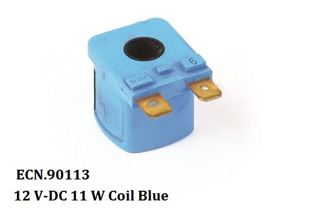 12 V-DC 11 W Coil Blue 1