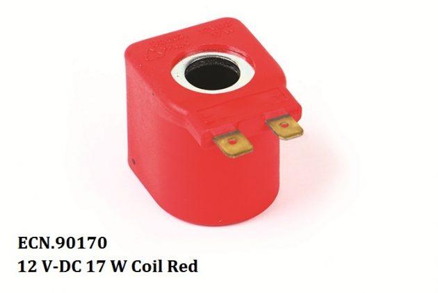 12 V-DC 17 W Coil Red 1
