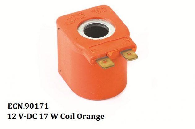 12 V-DC 17 W Coil Orange 1