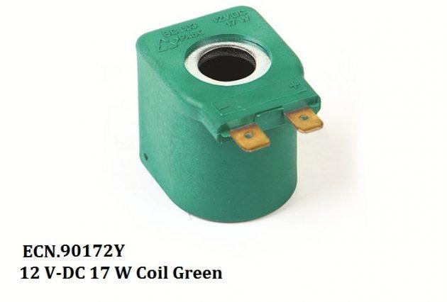 12 V-DC 17 W Coil Green 1