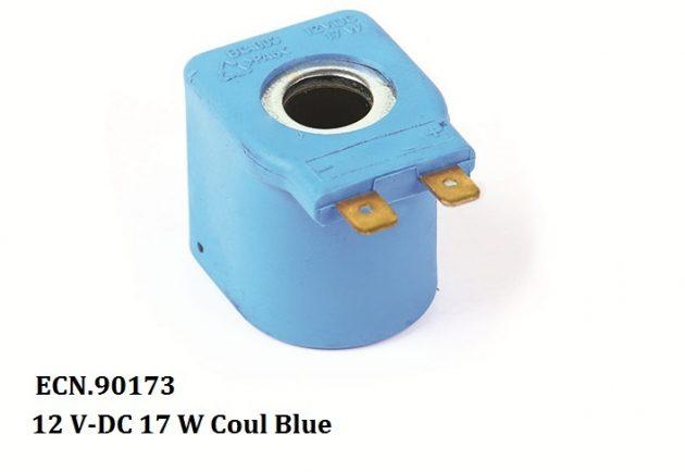 12 V-DC 17 W Coil Blue 1