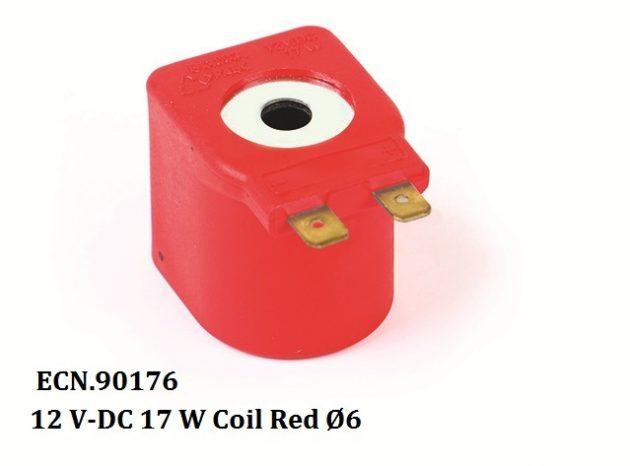12 V-DC 17 W Coil Red 06 1