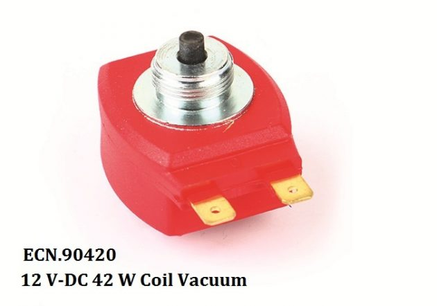 12 V-DC 42 W Coil Vacuum Red 1
